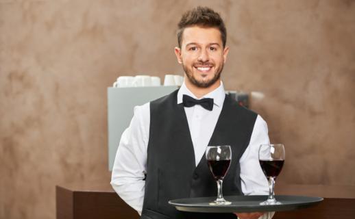 Cameriere – livello evoluto per ristoranti e hotel 4 e 5 stelle