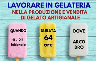 Lavorare in gelatiera nella produzione e vendita di gelato artigianale